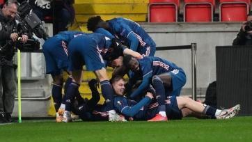 «Арсенал», «Рома», «МЮ» и «Вильярреал» прошли в полуфинал Лиги Европы