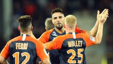 «Монпелье» в меньшинстве вышел в полуфинал Кубка Франции