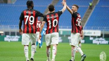 «Милан» на своем поле уступил «Сассуоло»