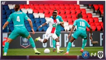 «ПСЖ» разгромил «Анже»в рамках Кубка Франции