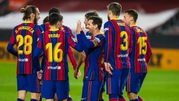 «Барселона» крупно обыграла дома «Хетафе»