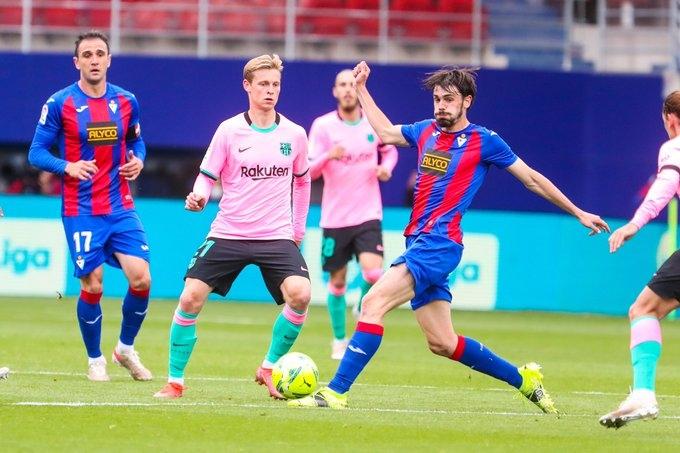«Эйбар» - «Барселона» - 0:1. Обзор матча и видео гола