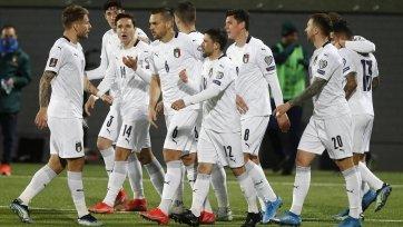 Игроки сборной Италии вакцинировались от коронавируса