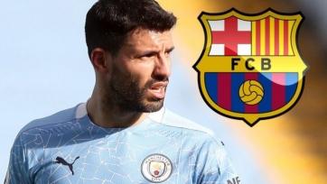 «Барселона» и Агуэро провели переговоры