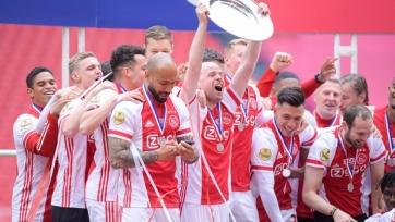«Аякс» переплавил свой чемпионский трофей