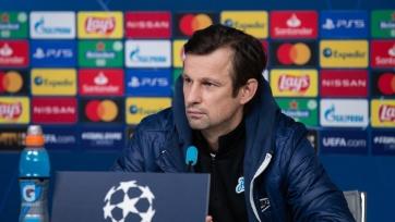 Семак назвал причину неудачи «Зенита» в Лиге чемпионов