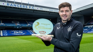 Джеррард - лучший тренер сезона в Шотландии