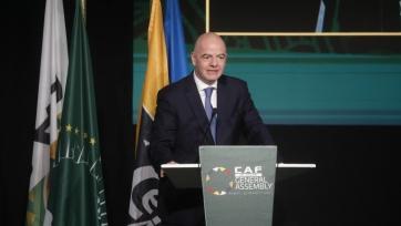 Инфантино ответил на слухи о причастности ФИФА к созданию Суперлиги