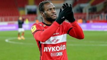 Мозес признан лучшим игроком «Спартака» в мае