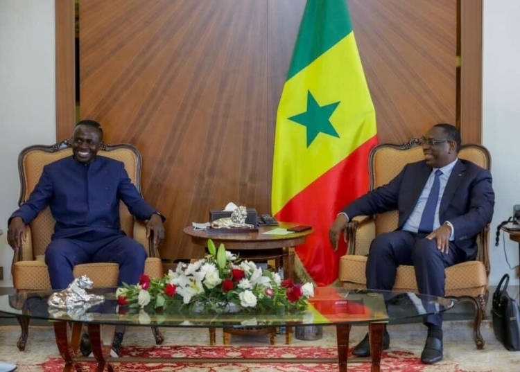 Мане встретился с президентом Сенегала. Фото