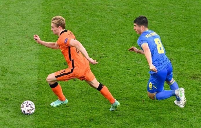 Нидерланды – Украина – 3:2. Обзор матча и видео голов