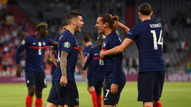 Франция – Германия – 1:0. Обзор матча и видео голов
