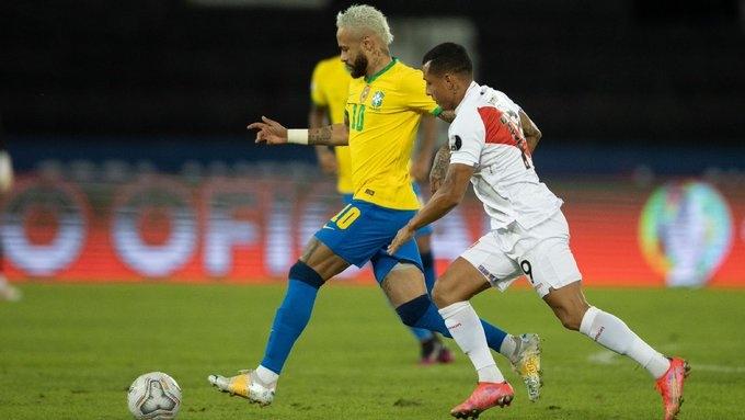 Бразилия – Перу – 4:0. Обзор матча и видео голов