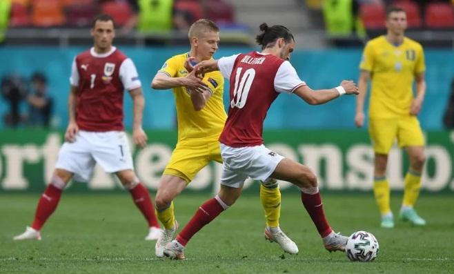 Украина – Австрия – 0:1. Видео матча и обзор гола
