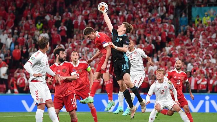 Россия – Дания – 1:4. Обзор матча и видео голов