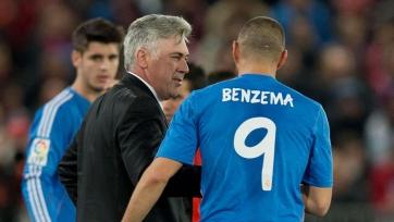 Бензема: «Анчелотти хочет выиграть все трофеи»