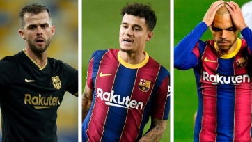 «Барселона» намерена продать 8 футболистов