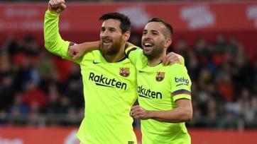 Альба: «С Месси у «Барселоны» больше шансов выиграть трофеи»
