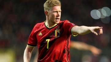 Де Брюйне вернулся в общую группу сборной Бельгии