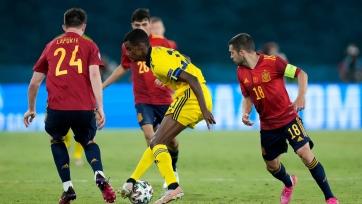 Первая «нулёвка» на Евро: Испания не смогла обыграть Швецию