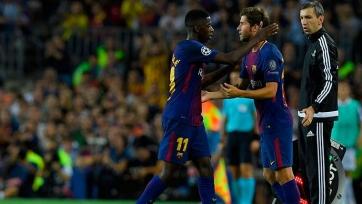 «Барселона» может обменять Дембеле и Роберто на двух игроков из «Ман Сити»
