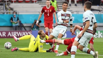 Роналду стал самым возрастным автором дубля на чемпионатах Европы
