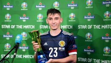 Гилмор – лучший игрок матча Англия – Шотландия