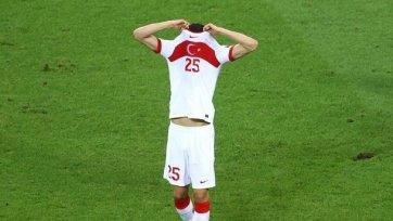Сборная Турции – первый неудачник Евро-2020
