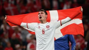 Кристенсен признан лучшим игроком матча Россия – Дания