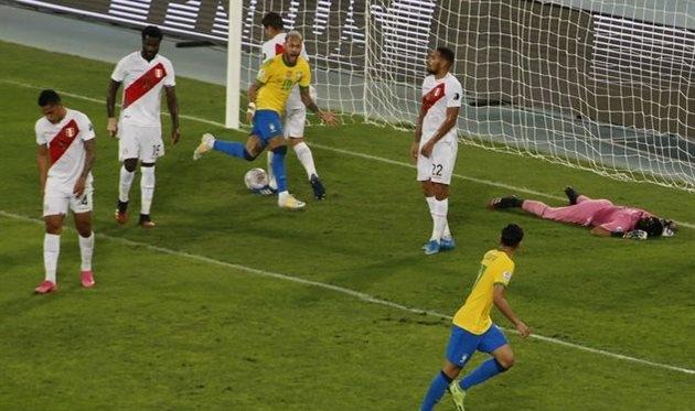 Бразилия – Перу – 1:0. Обзор матча и видео голов