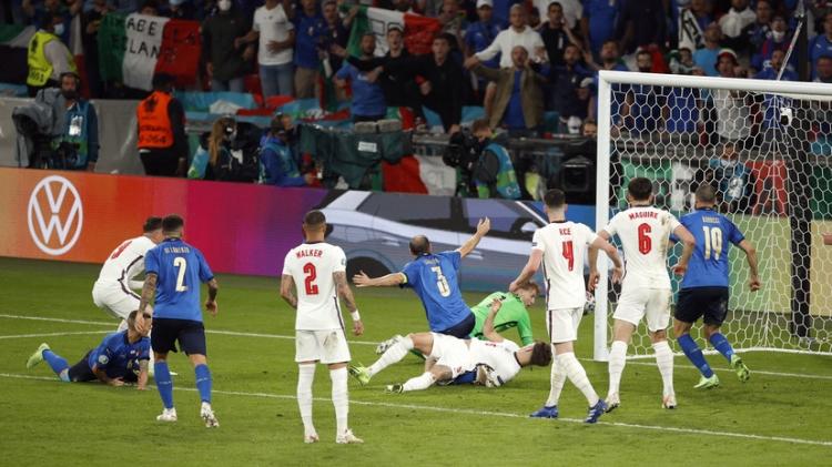 Италия – Англия – 1:1 (3:2 пен). Обзор матча и видео голов