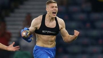 Нападающий сборной Украины Довбик: «Англия - самая сильная сборная не только Европы, но и мира»