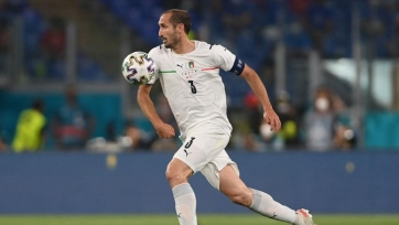 Кьеллини: «Англия – невероятно сильная команда»