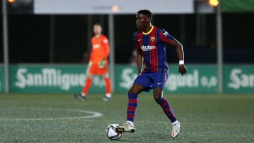 Мориба согласился продлить контракт с «Барселоной»