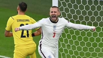 Шоу играл в плей-офф Евро-2020 с переломом ребер