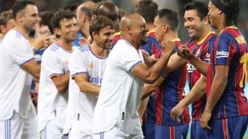 Легенды «Барселоны» – легенды «Реала» – 2:3. Обзор матча и видео голов