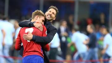 Симеоне отреагировал на слухи о возможном возвращении Гризманна в «Атлетико»