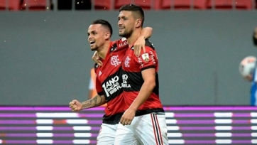 Дубль Витиньо вывел «Фламенго» в 1/4-ю Кубка Либертадорес