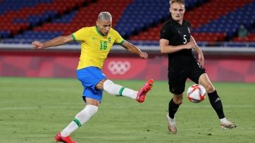 Бразилец Ришарлиссон оформил хет-трик за 30 минут матча против Германии на Олимпиаде-2020