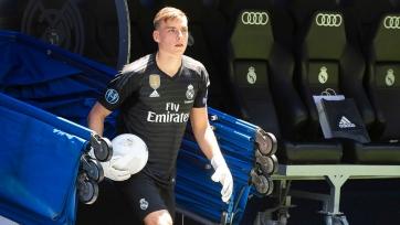 «Реал» не отпустил Лунина в аренду
