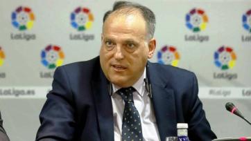 Тебас: «Ла Лига не будет менять правила ради «Барселоны» и Месси»
