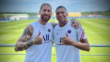 Мбаппе и Рамос не сыграют в матче за Суперкубок Франции
