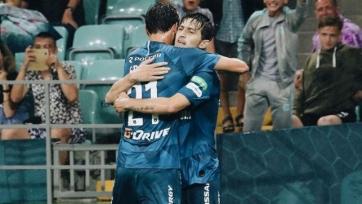 Ерохин и Азмун забивают во всех матчах «Зенита» в этом сезоне