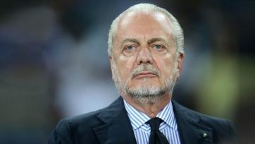 Де Лаурентис: «Перед стартом сезона у «Наполи» множество проблем»