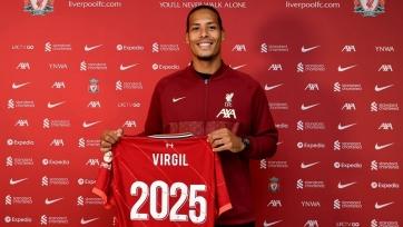 «Ливерпуль» заключил новое соглашение с ван Дейком
