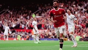 «Манчестер Юнайтед» разгромил «Лидс» на старте АПЛ, хет-трик Фернандеша, четыре ассиста Погба