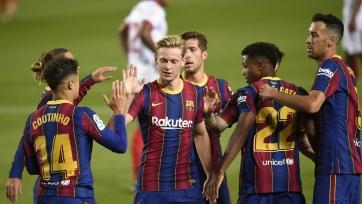 Семь игроков «Барселоны» не вошли в заявку на матч против «Реала Сосьедад»