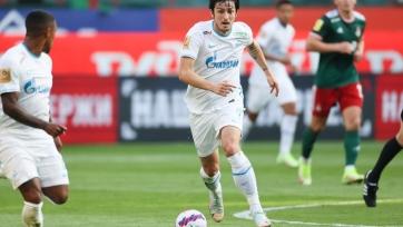 Азмун стал лучшим игроком матча «Локомотив» - «Зенит»
