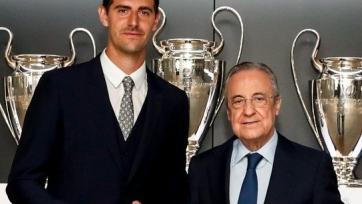 «Реал» заключил новый контракт с Куртуа. Видео