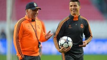 Анчелотти хочет видеть в «Реале» Роналду